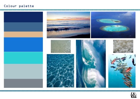 Water of LIfe Colour palette